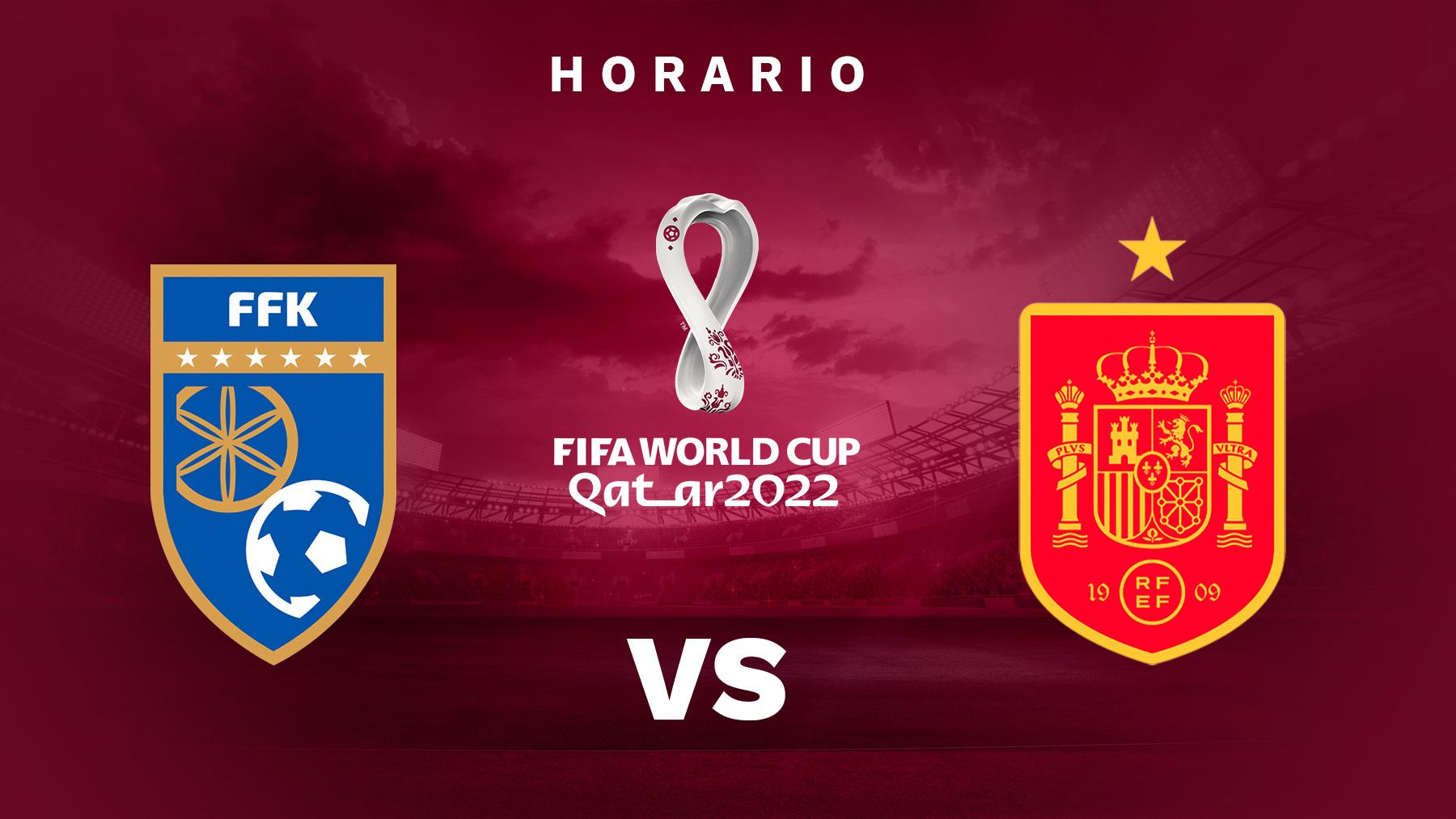 Clasificación Mundial Qatar 2022: Kosovo – España | Horario del partido de fútbol de la clasificación del Mundial de Qatar 2022.