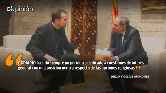 El sorprendente eco mediático al ex obispo de Solsona