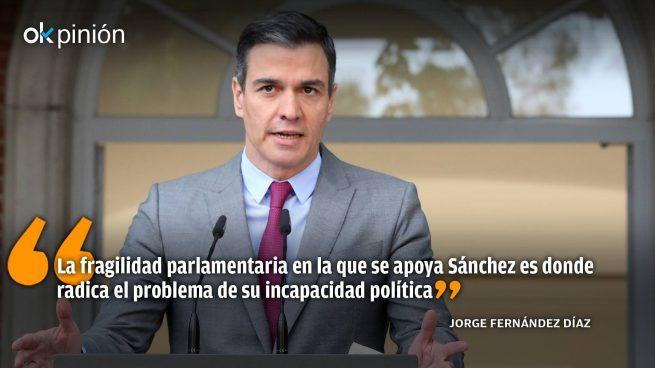 Sánchez: «Mil días fuera de la Constitución»