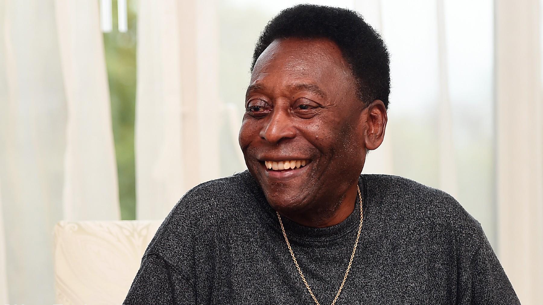 Pelé, en una imagen de archivo. (Getty)