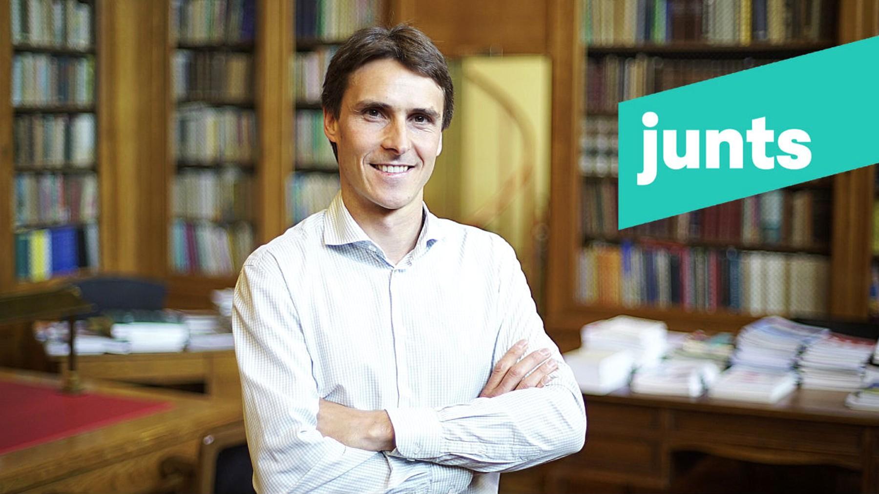 El diputado de JxCAT en el Parlament Salvador Vergés.
