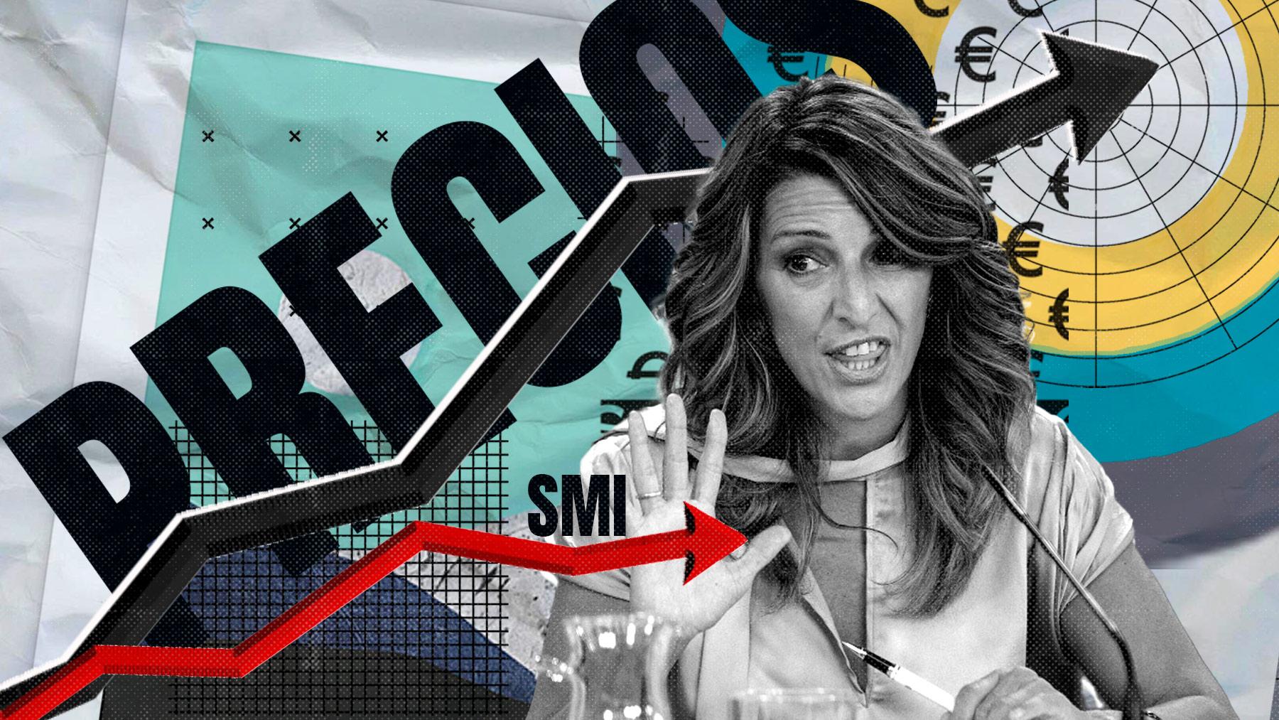 Yolanda Díaz reconoce que la subida de la luz en la industria «lastra» la economía