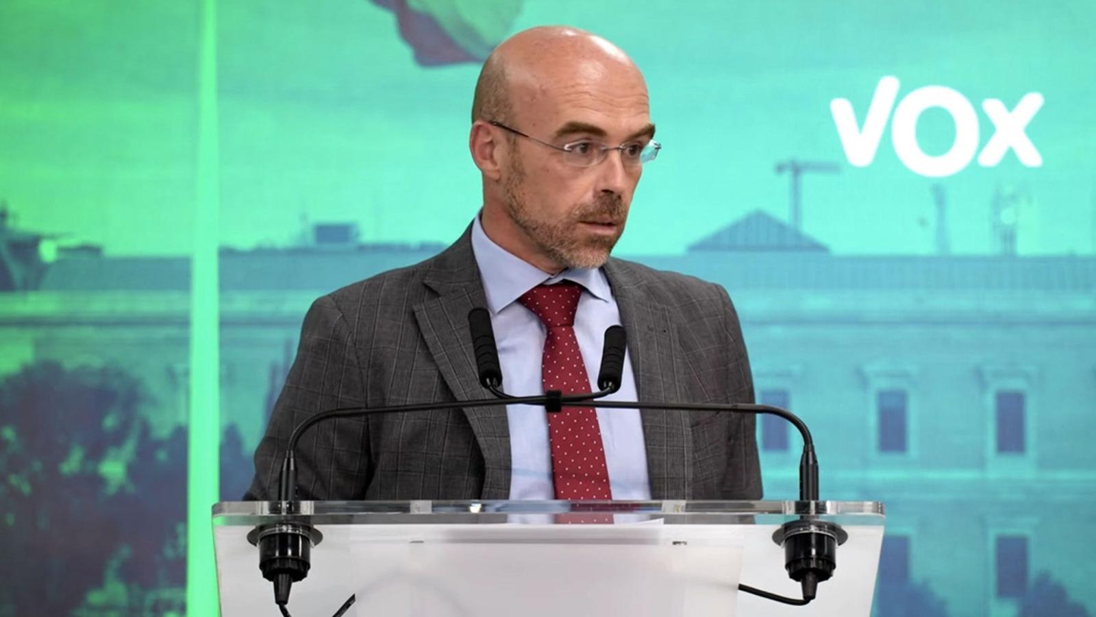 Jorge Buxadé, eurodiputado de Vox.
