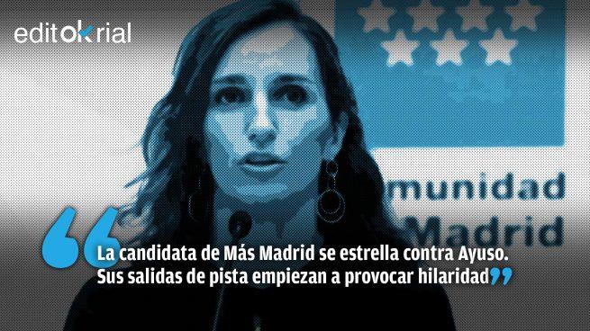Mónica García, sin frenos y a lo loco