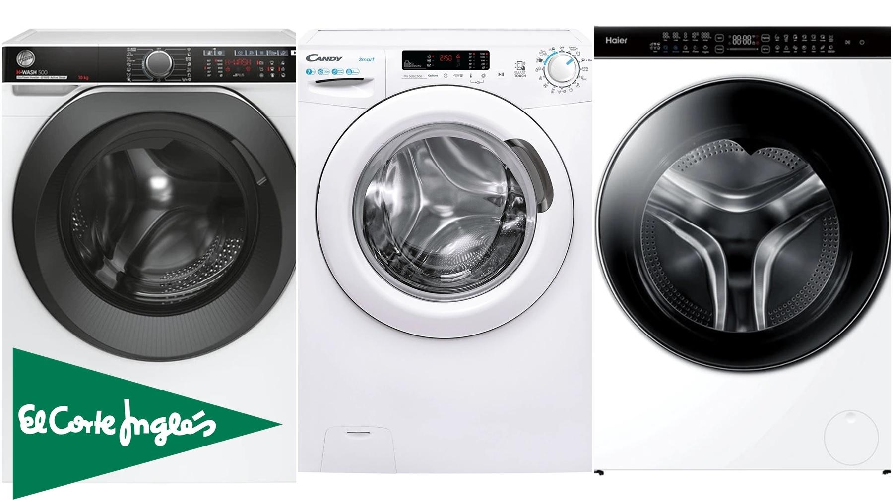 lavadoras de el corte ingles