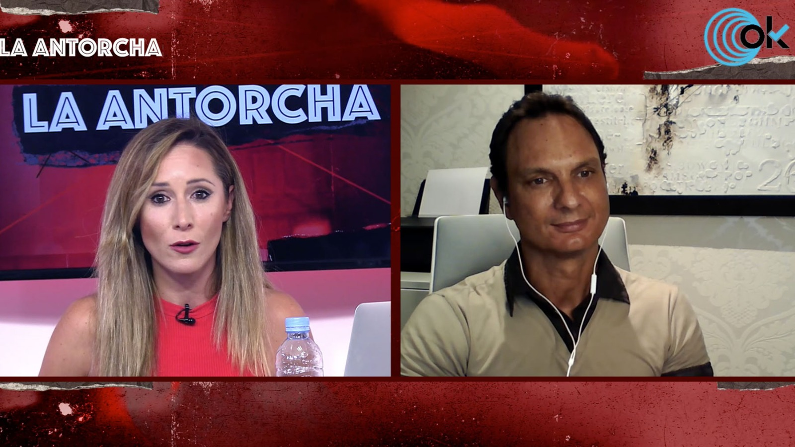 Javier Cárdenas en La Antorcha