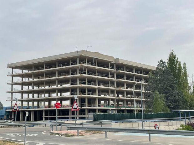 El hotel de la T2 de Barajas.