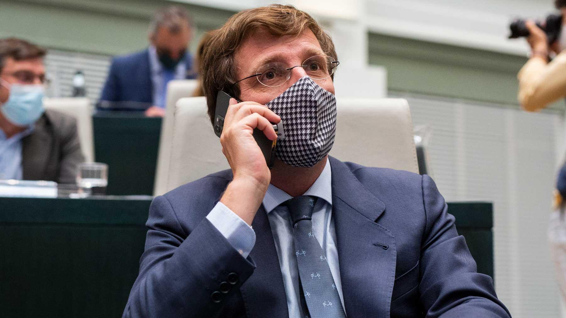 El alcalde de Madrid y portavoz nacional del PP, José Luis Martínez-Almeida. Foto: EP