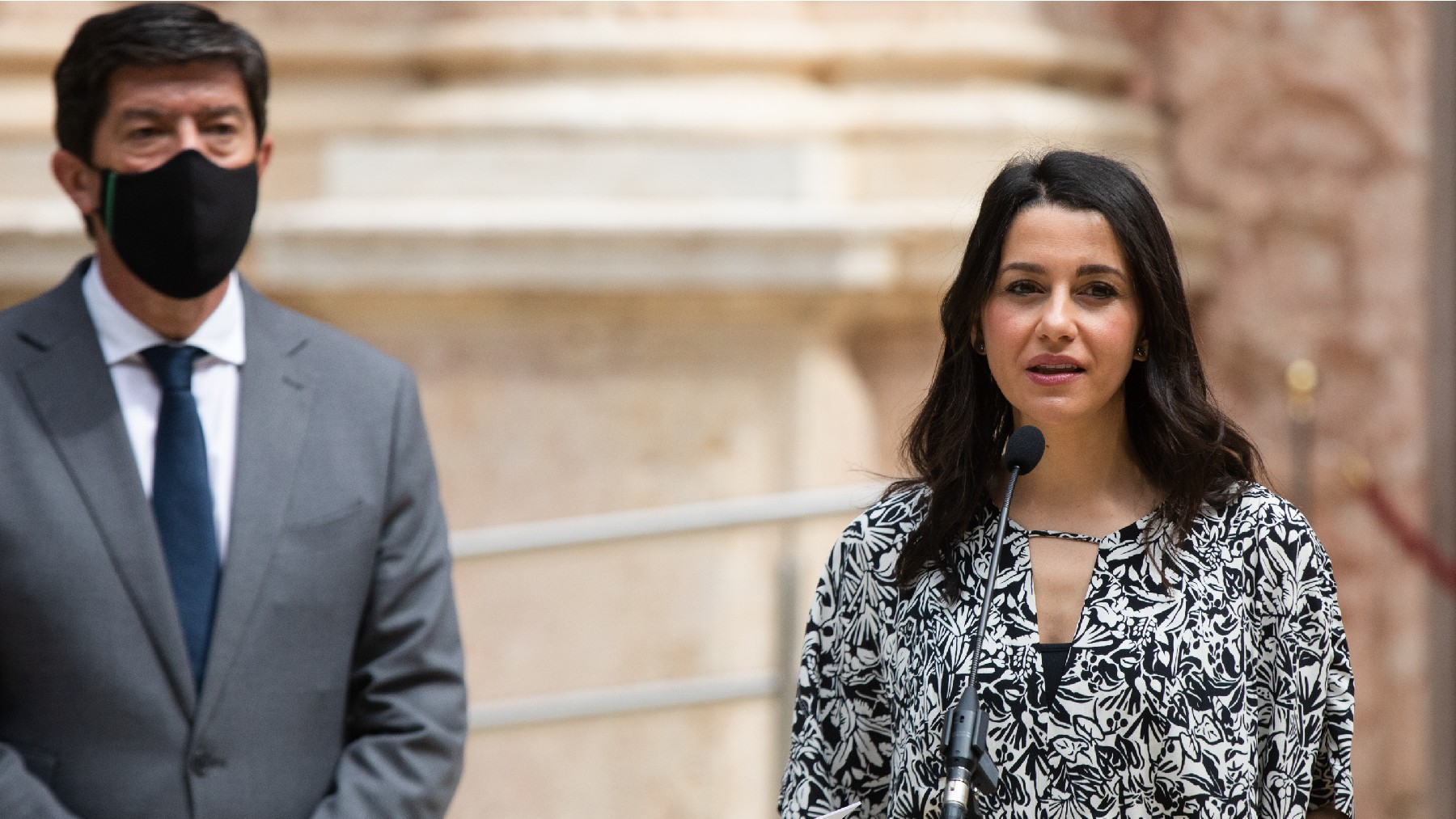 Inés Arrimadas y Juan Marín (Foto: EP)