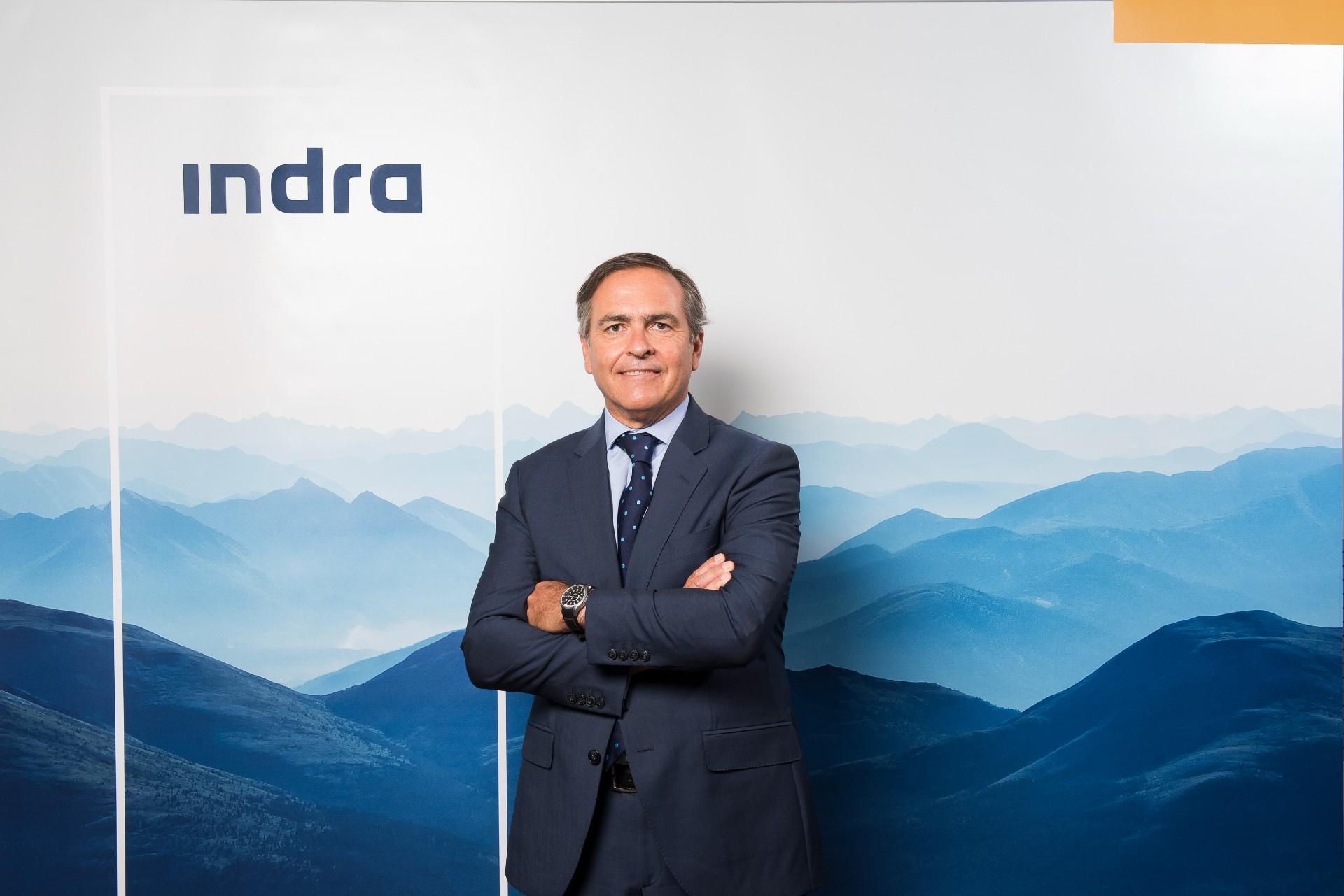 Ignacio Mataix, Consejero Delegado de Indra, responsable Transporte y Defensa.