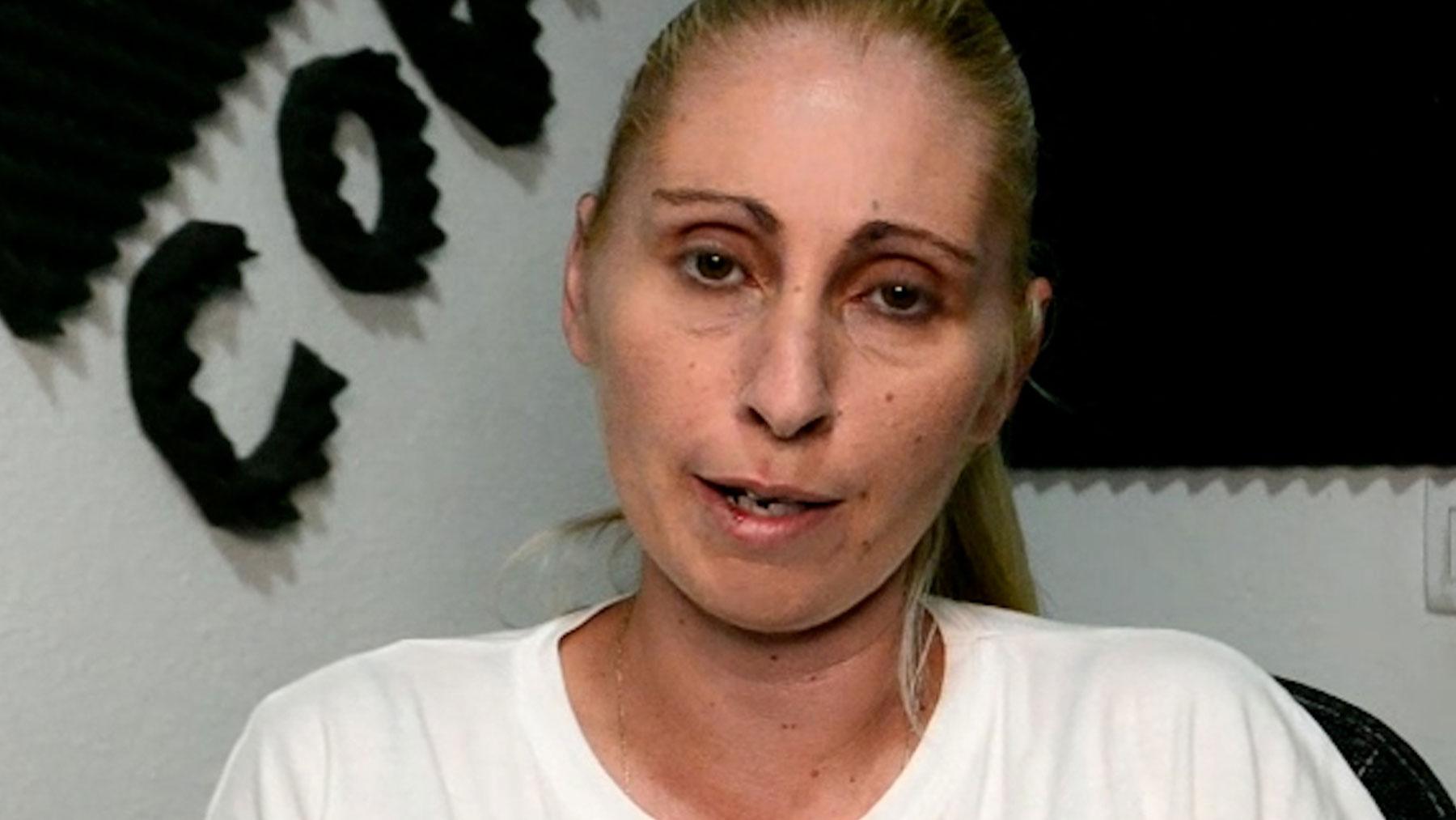 Ithaisa, madre de Yéremi Vargas.