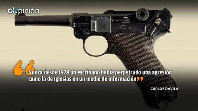 ¿Es Pablo Iglesias un pistolero?