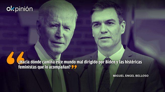 ¿Han mamado Biden y Sánchez leche pectoral?