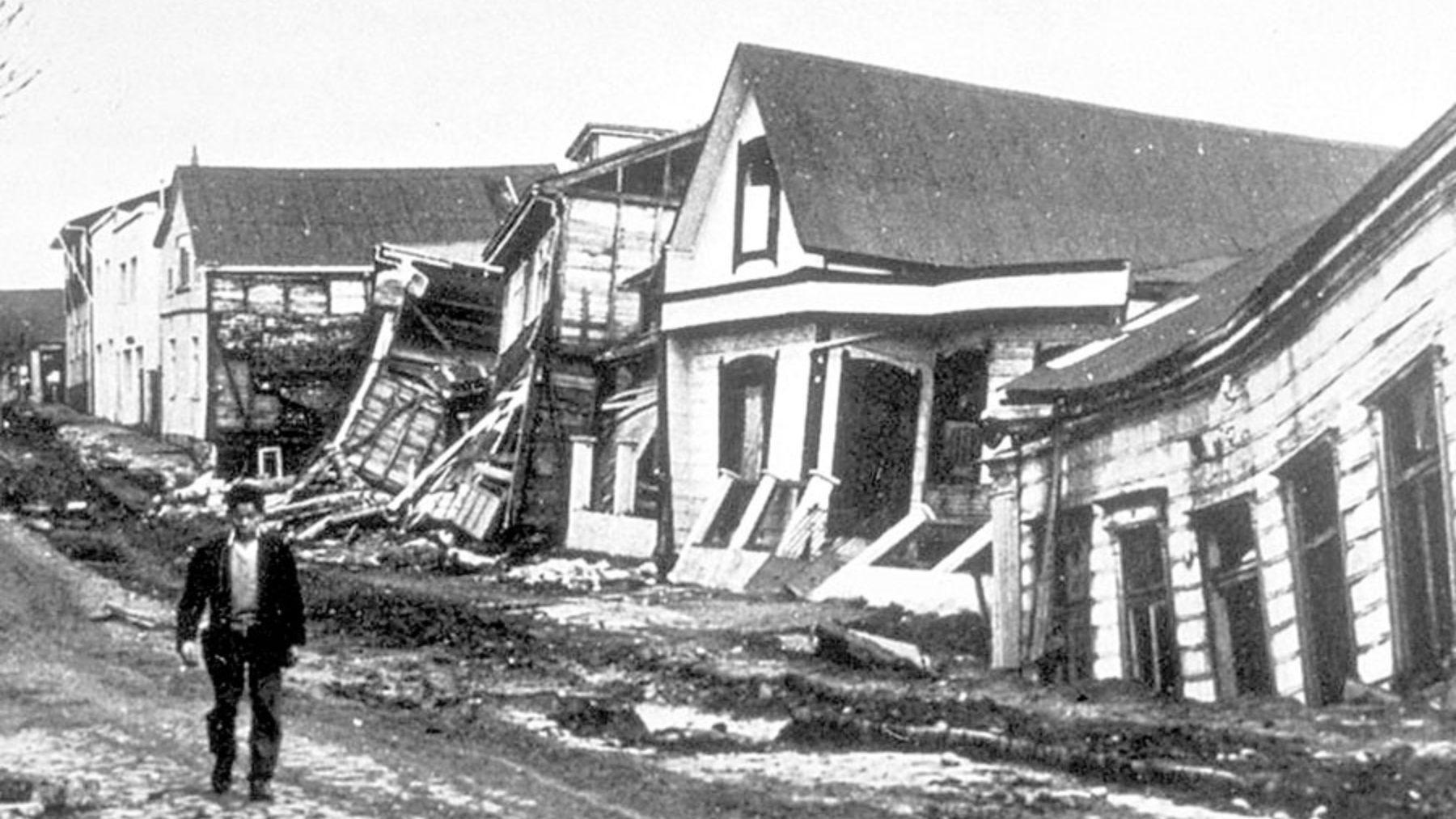 El terremoto de Valdivia en Chile