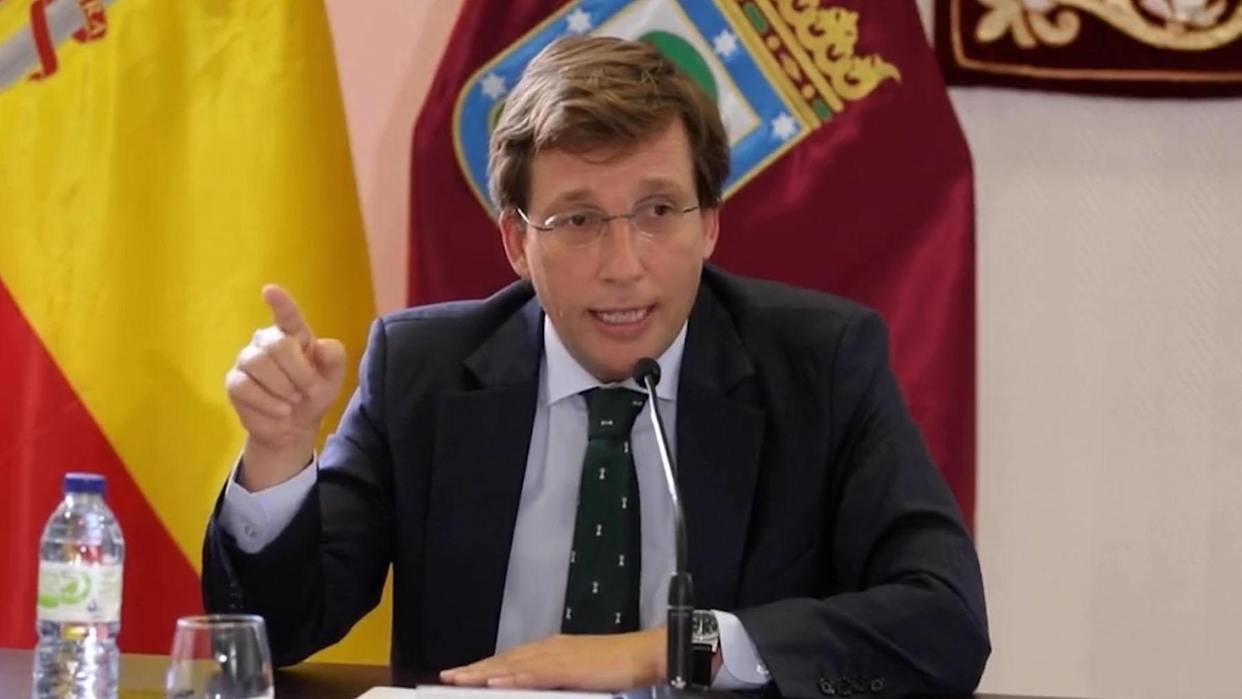 El alcalde de Madrid y portavoz del PP, José Luis Martínez-Almeida.