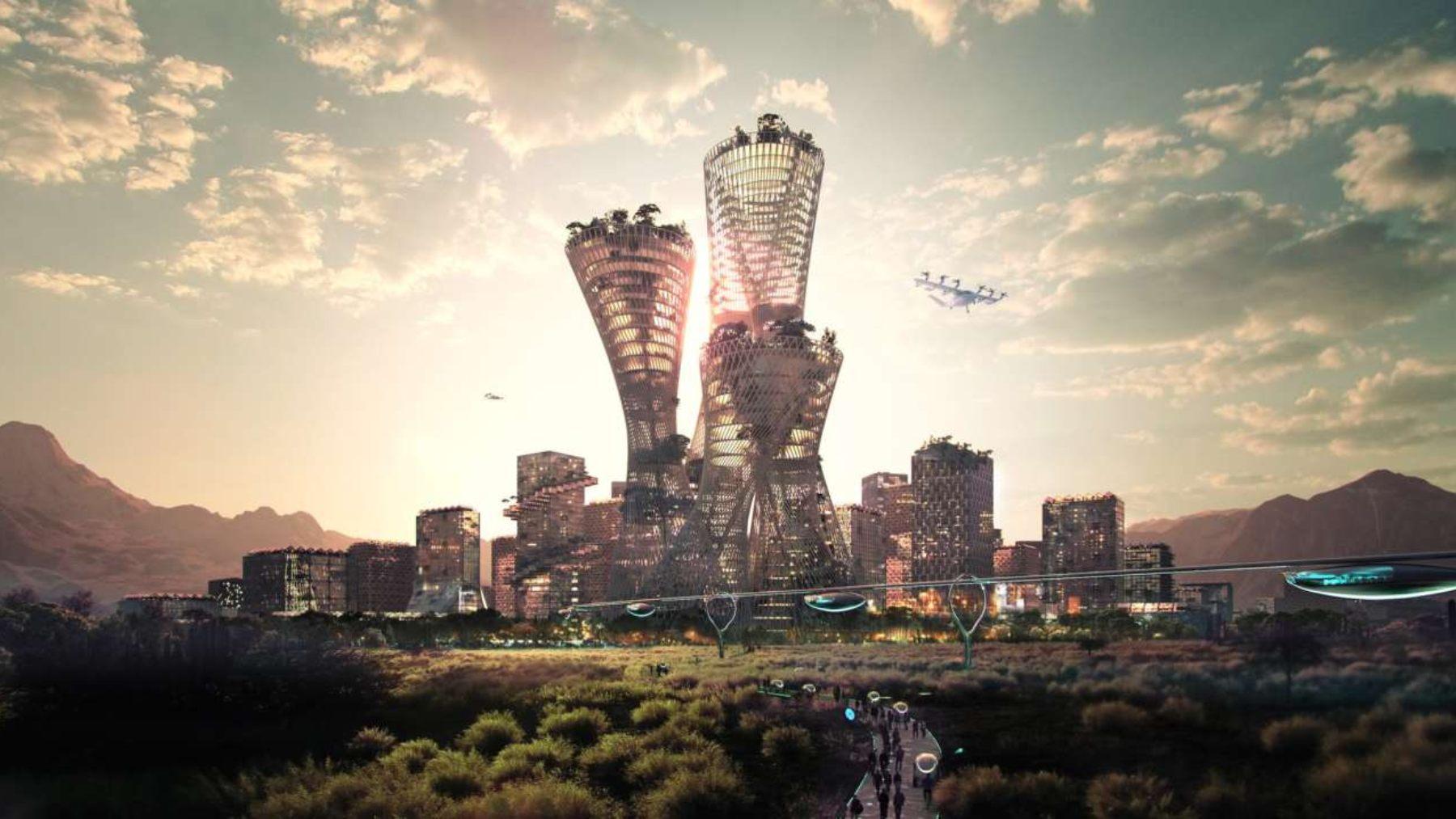Telosa, la ciudad vanguardista del futuro