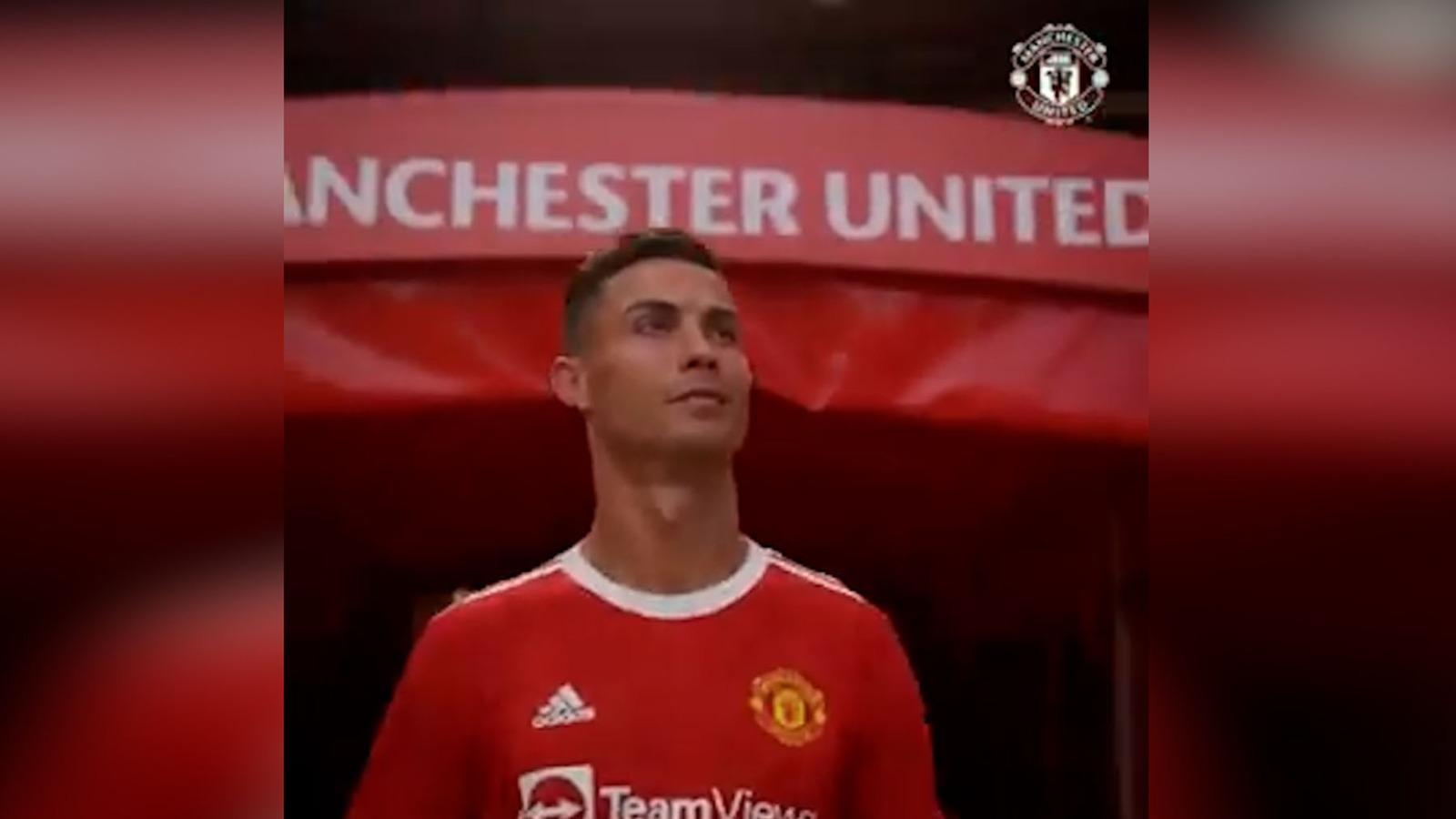 Pelos de punta: el emotivo vídeo de Cristiano Ronaldo entrando de nuevo a Old Trafford.