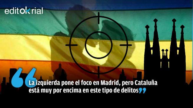 ¿Si la derecha es culpable, por qué Cataluña es líder en delitos por homofobia?
