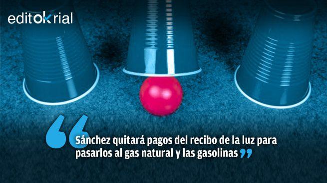 ¿Dónde está la bolita, trilero Pedro Sánchez?