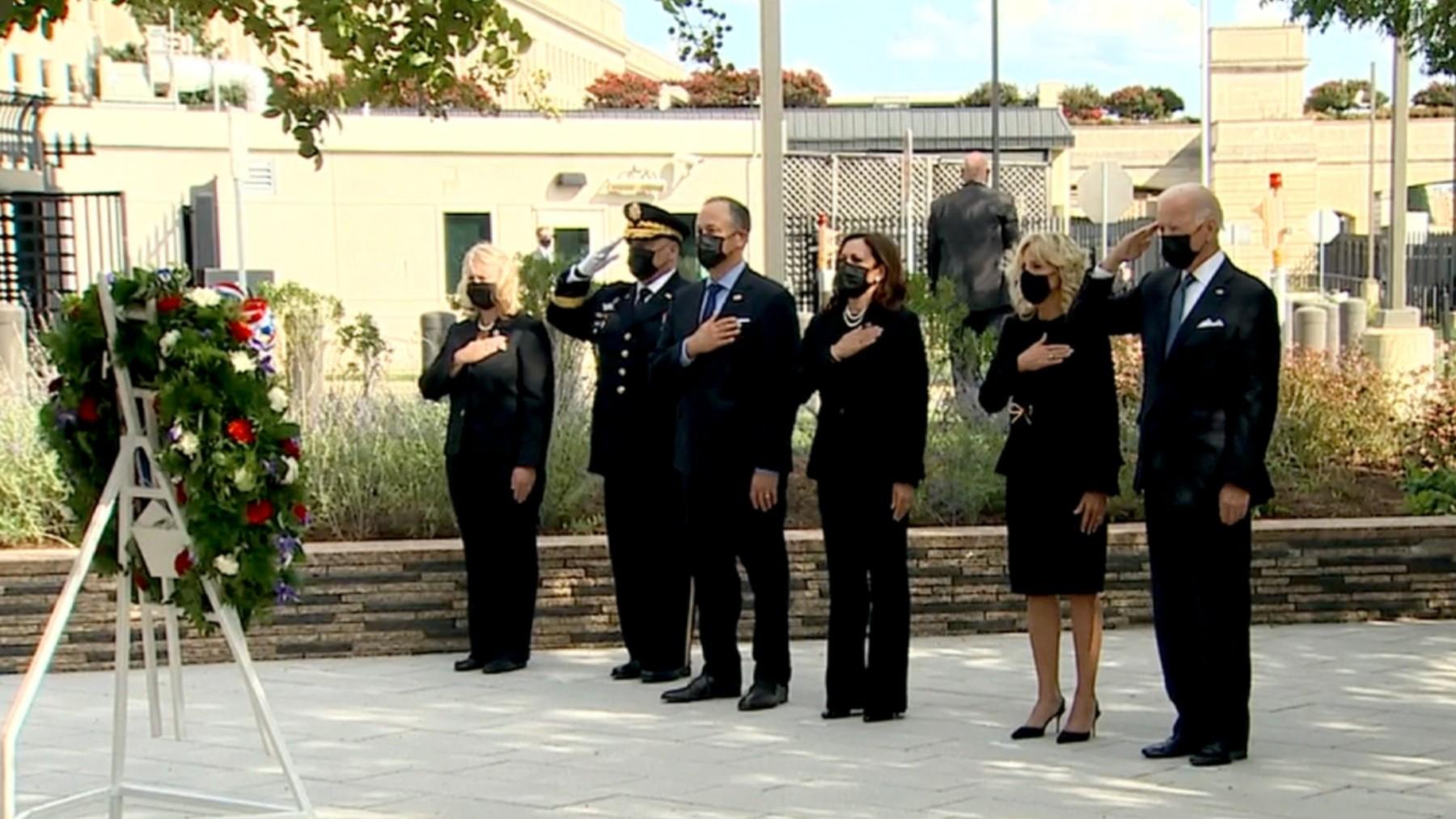 Homenaje en EEUU a las víctimas del 11S.