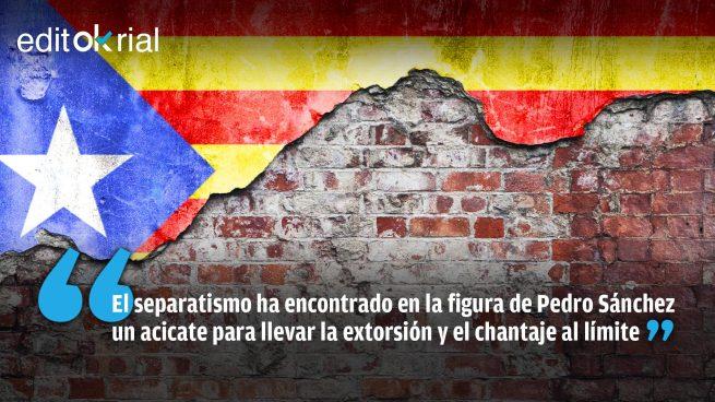 El golpismo ya sólo moviliza a Pedro Sánchez