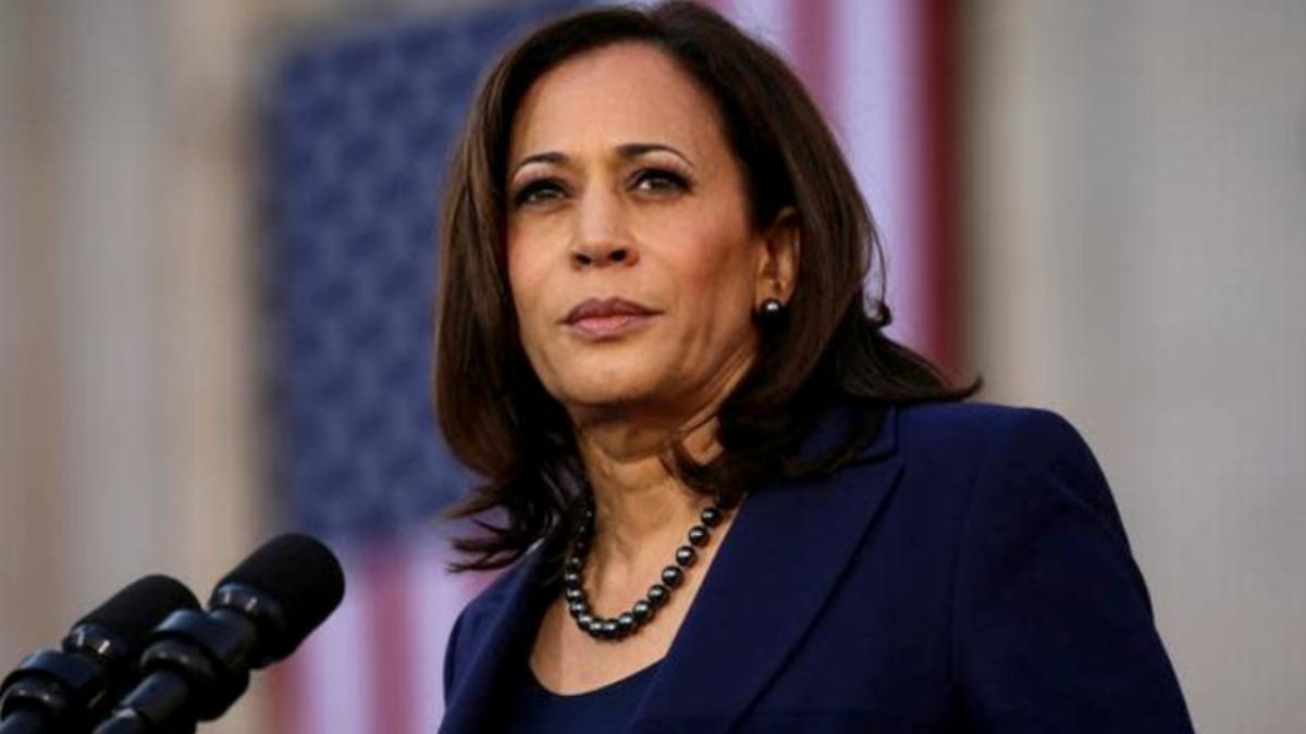 La vicepresidenta, Kamala Harris.