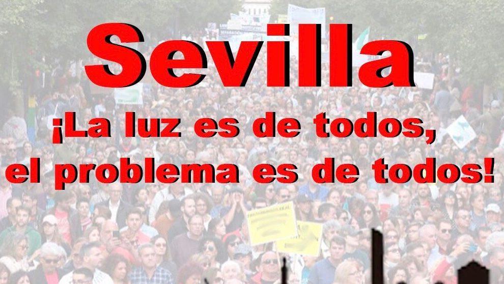 Convocatoria a las protestas de los hosteleros contra Sánchez.