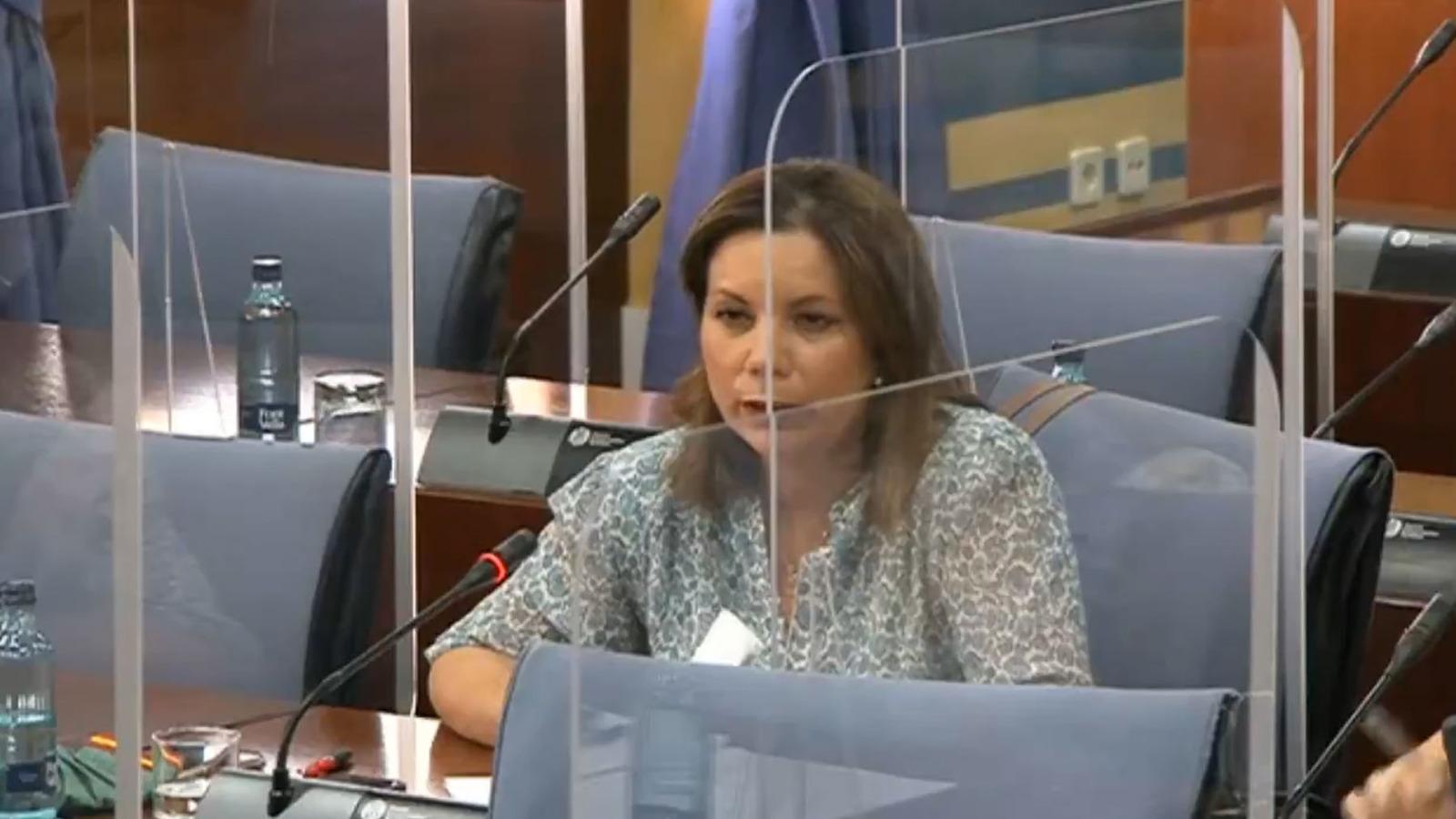 Carmen Ibanco, mujer del socialista Espadas.
