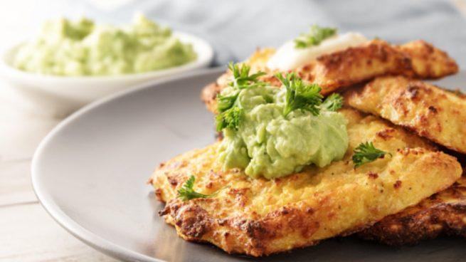 Tortitas de patata y aguacate, receta fácil de preparar y saludable