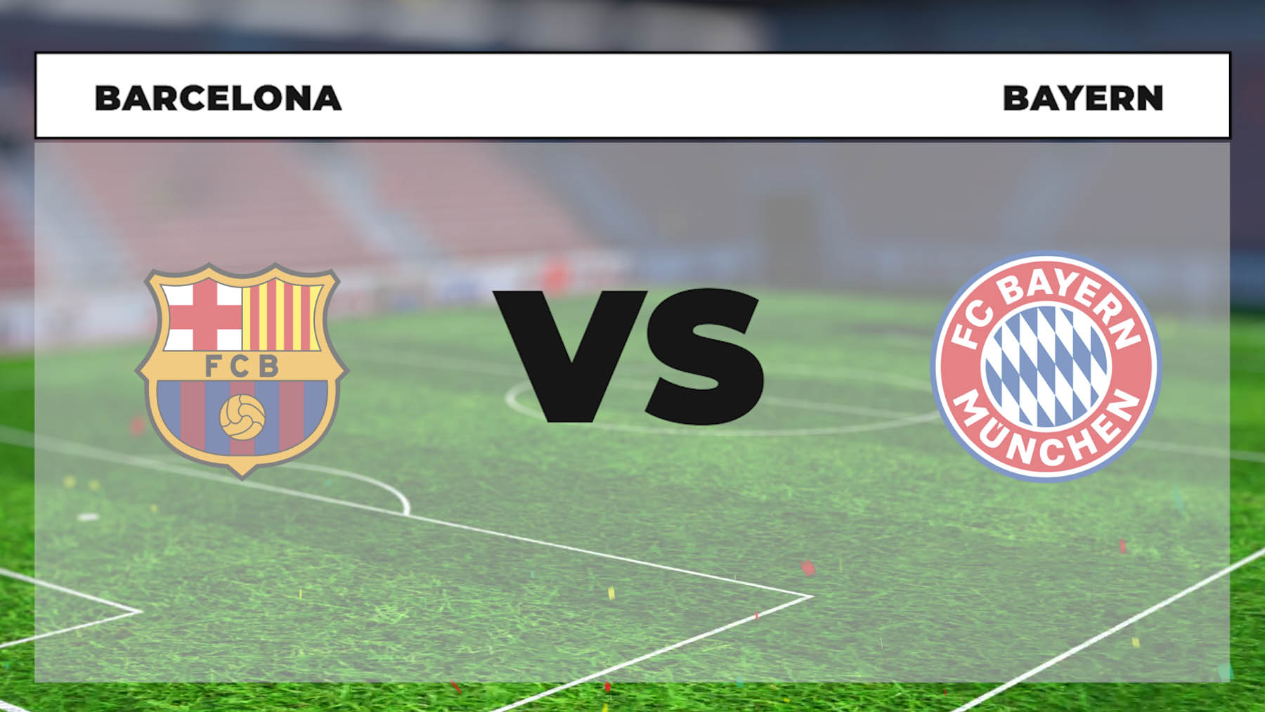 Horario y dónde ver el Barcelona – Bayern.