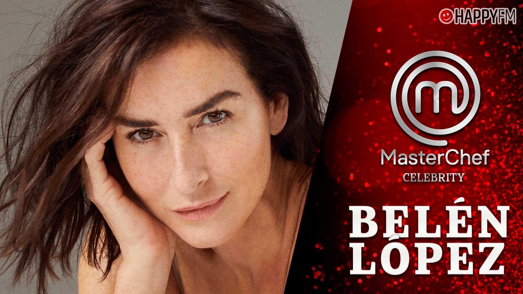 Belén López, concursante de Masterchef Celebrity 6