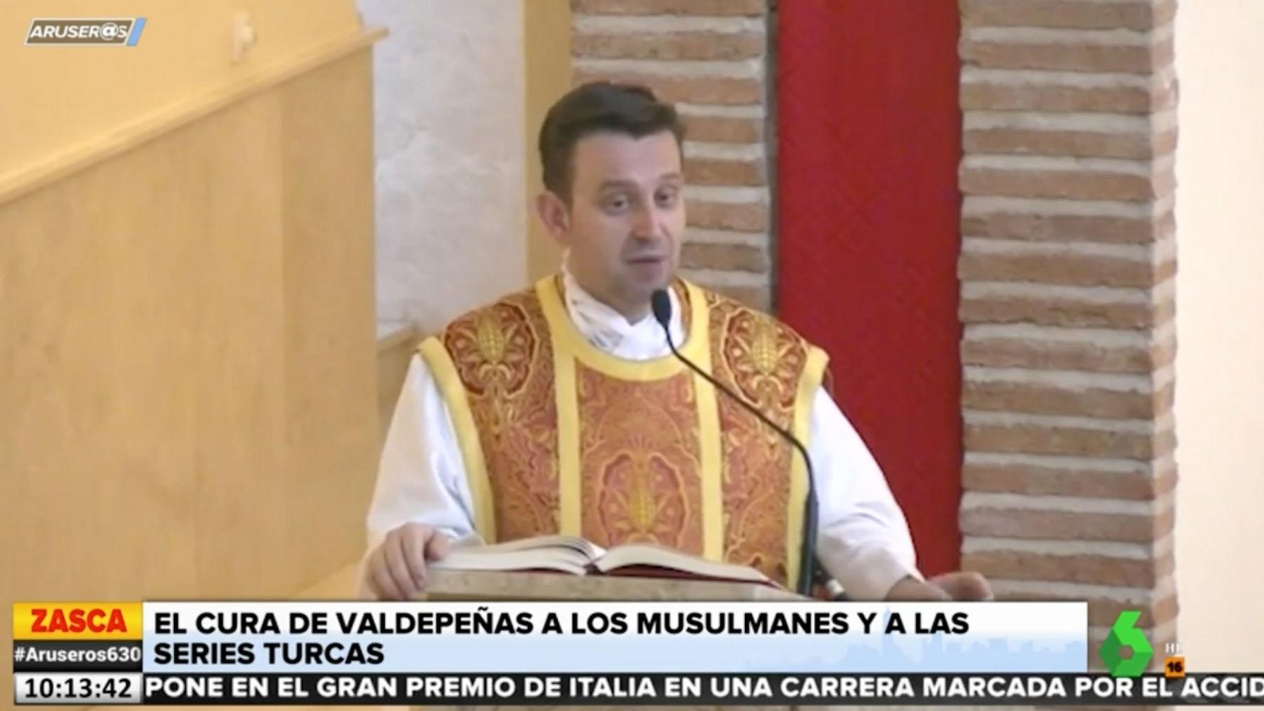 El polémico cura de Valdepeñas.