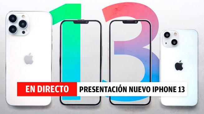Presentación del iPhone 13, en directo