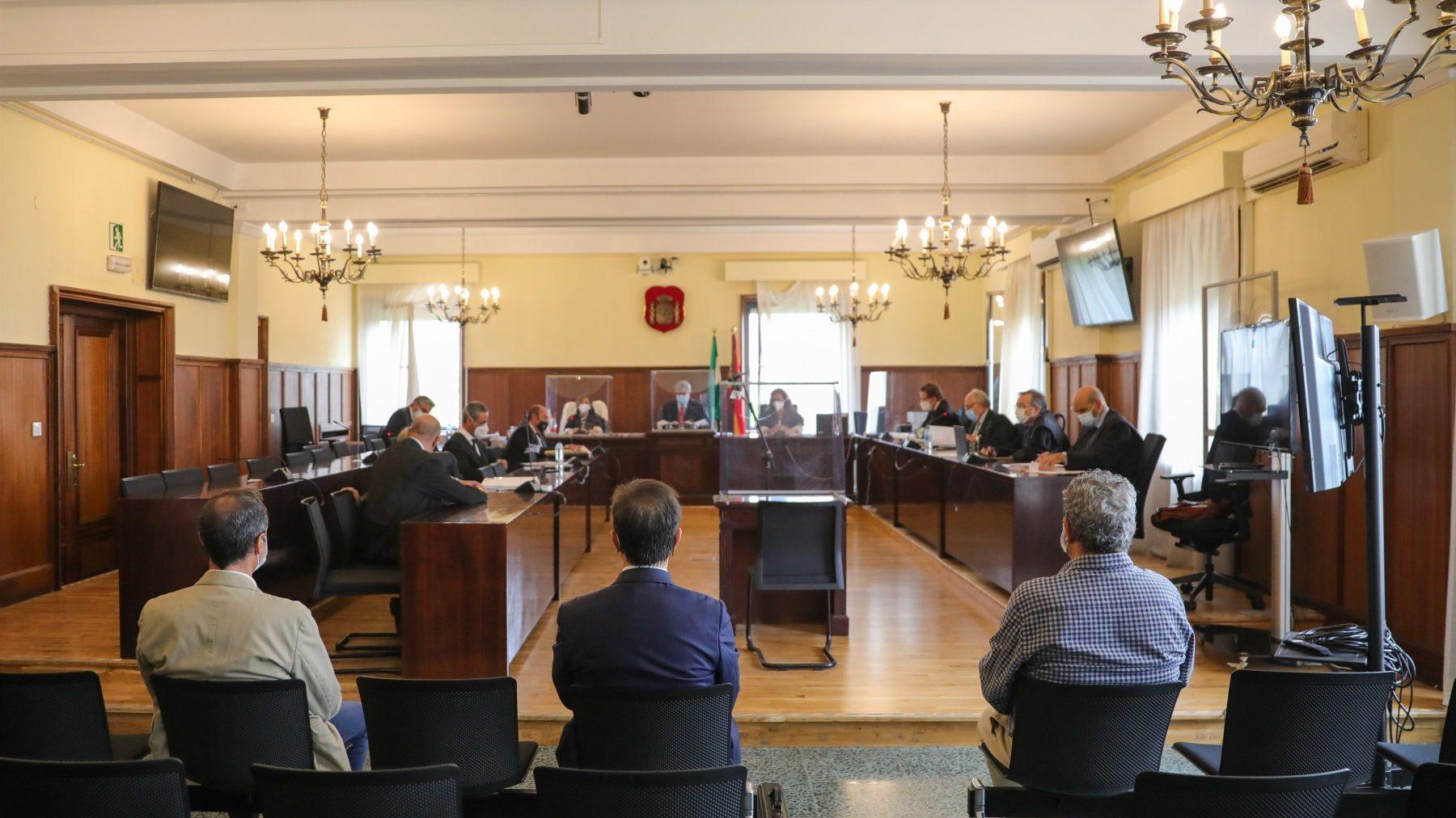 Primera sesión del juicio de la pieza de personal del caso Invercaria (MJ LÓPEZ / EUROPA PRESS).