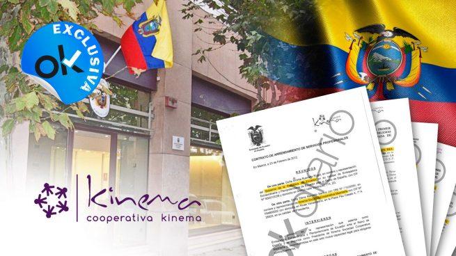 OKDIARIO desvela las 18 transferencias bancarias que la Embajada de Ecuador en España hizo a Mayoral