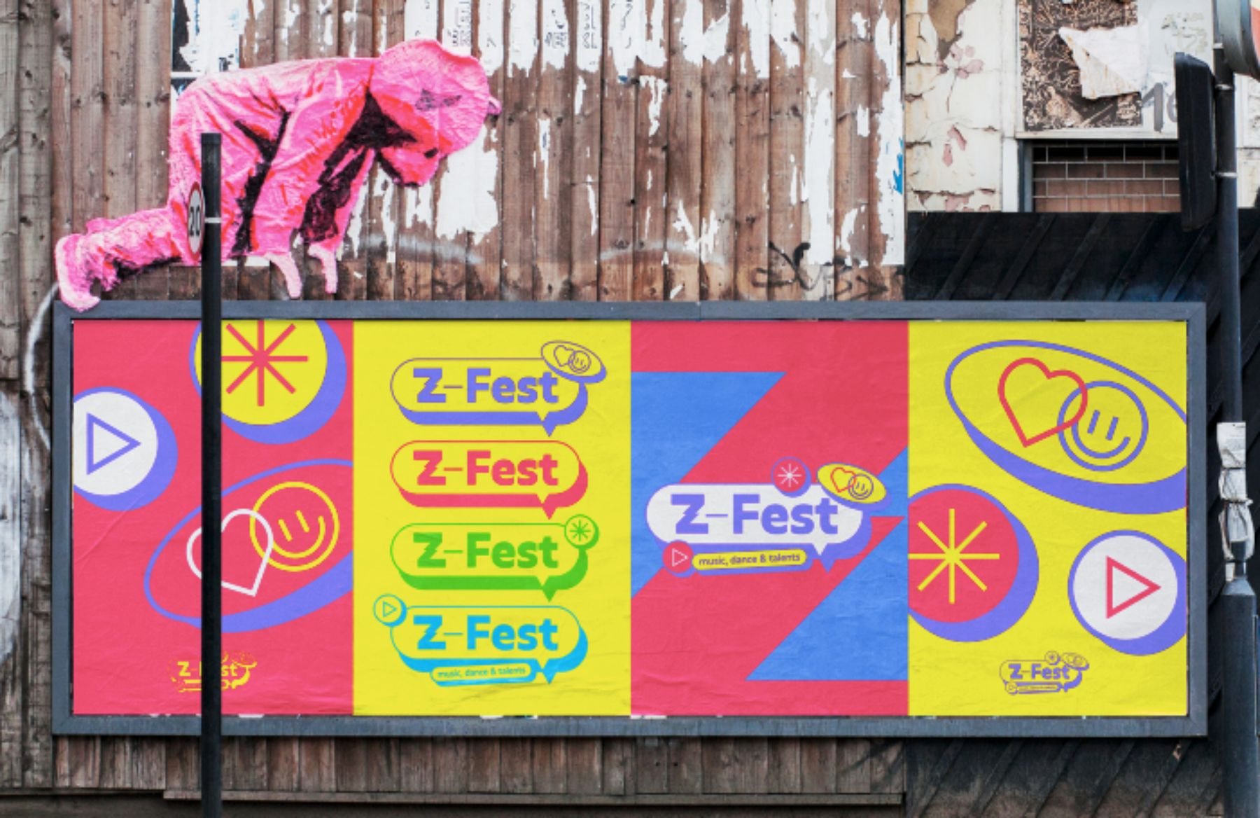 Cartel del Z-fest.