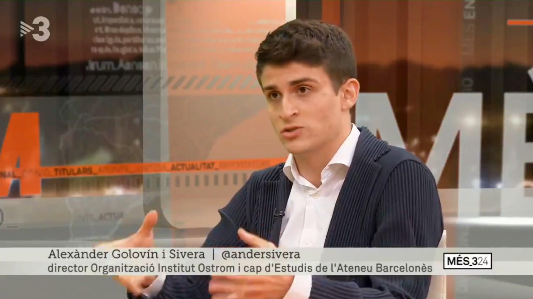 Alexander Golovín en 'TV3'.