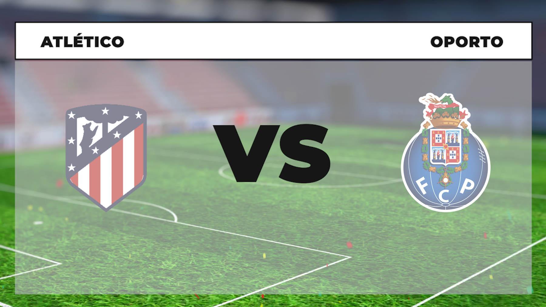 Champions League 2021-2022: Atlético de Madrid – Oporto | Horario del partido de fútbol de la Champions League.