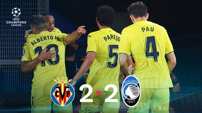 El Villarreal se queda a medias (2-2)