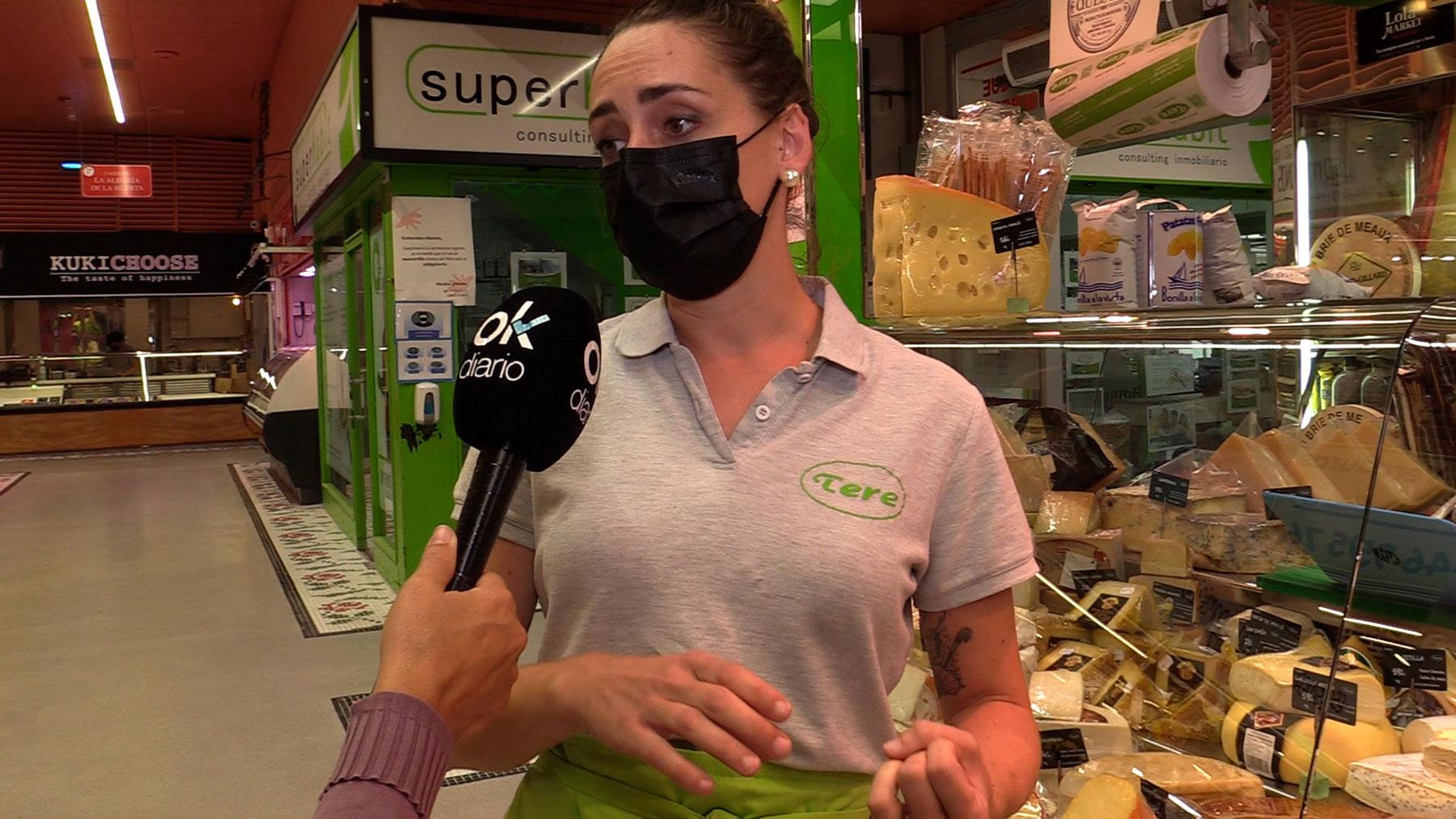 Débora  Martínez, charcutería Tere