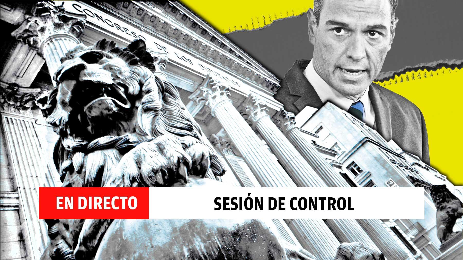 Última hora de la Sesión de control al Gobierno.