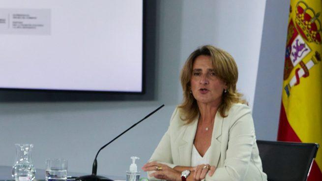 Teresa Ribera en el Consejo de Ministros
