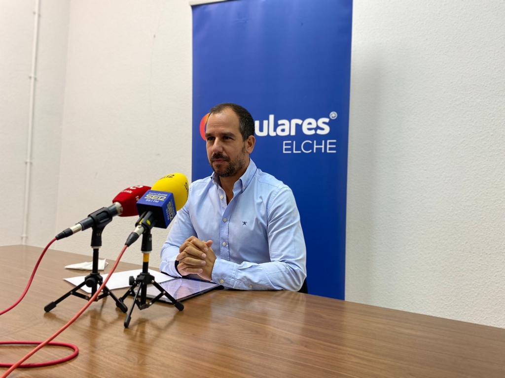 José Navarro. Grupo Popular Ayuntamiento de Elche