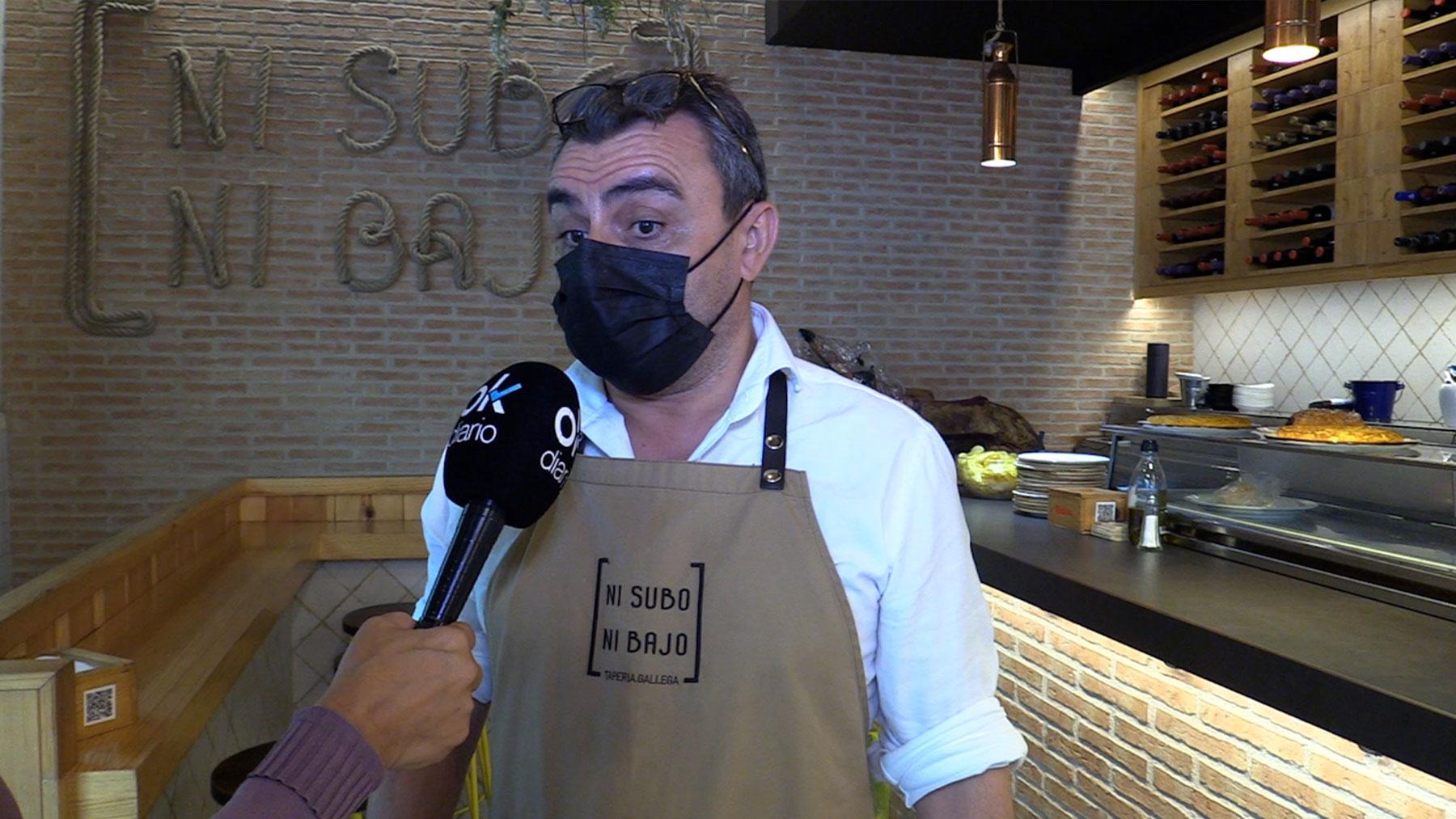 Manuel Fernández, hostelero