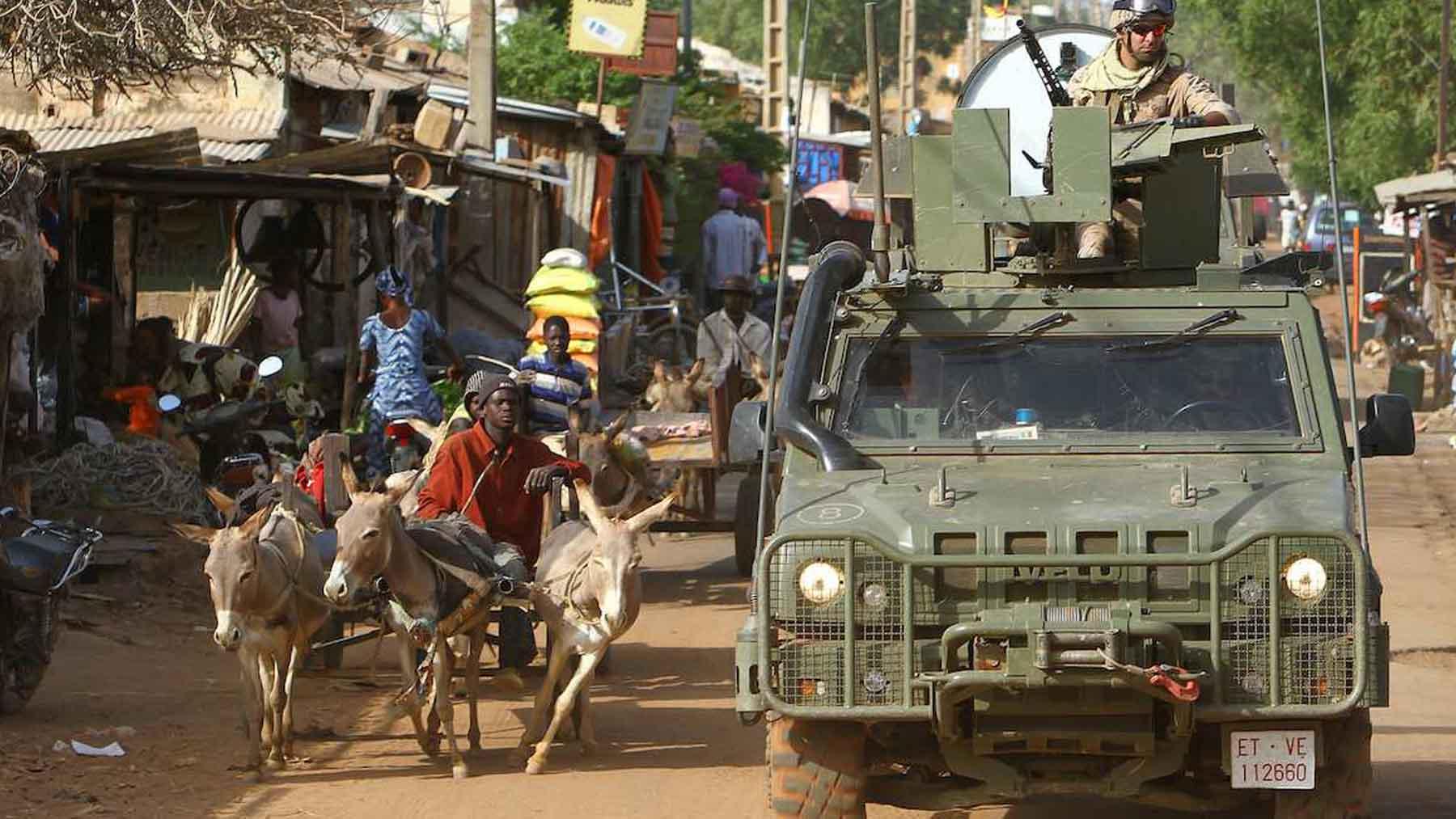 Militares españoles en Malí.