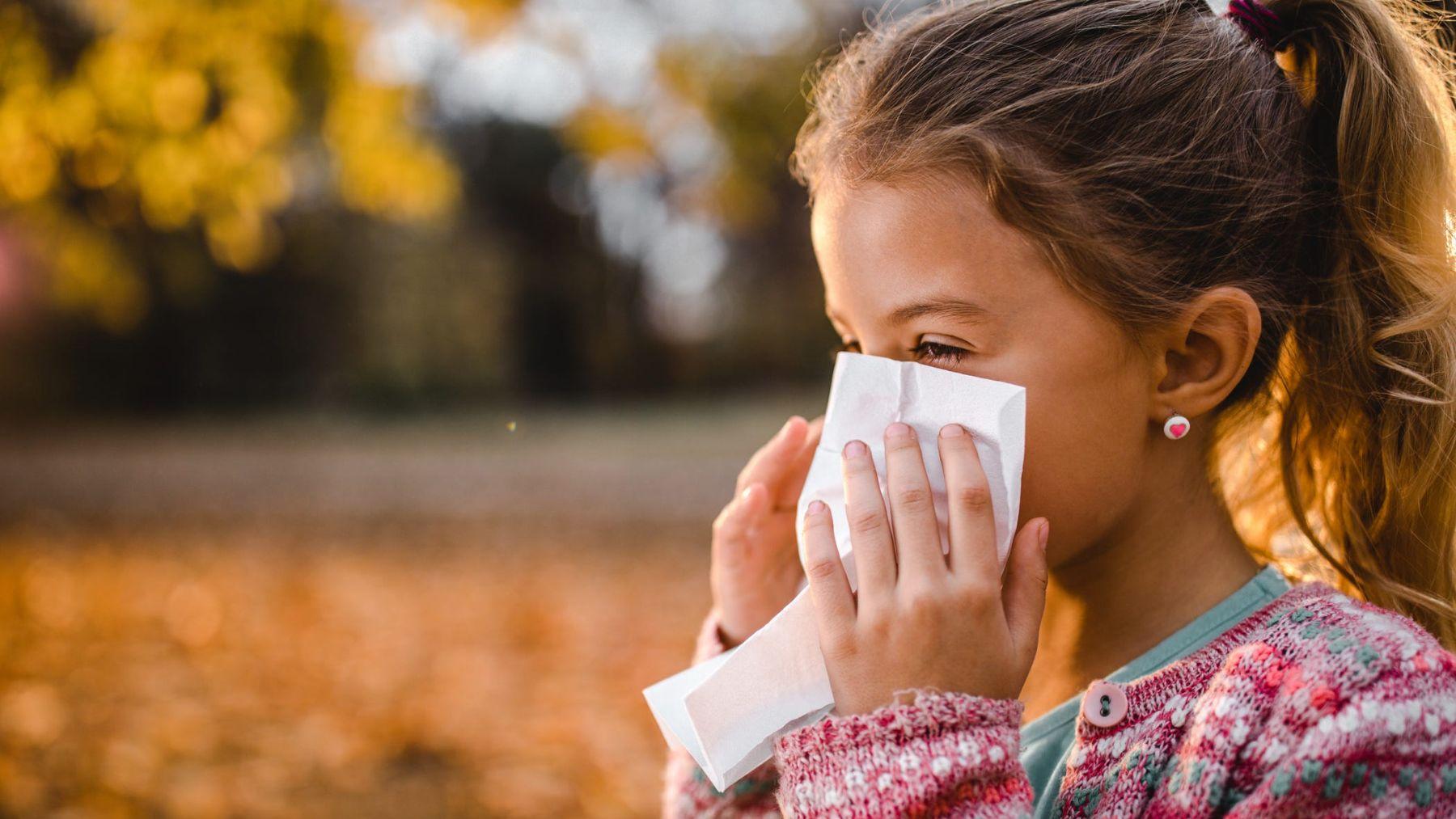 Cómo proteger las defensas de los niños en otoño