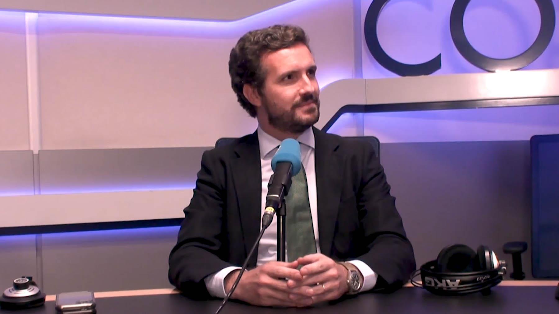 Pablo Casado en la Cadena Cope