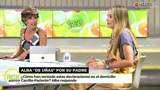 Alba Carrillo y Sonsoles Ónega