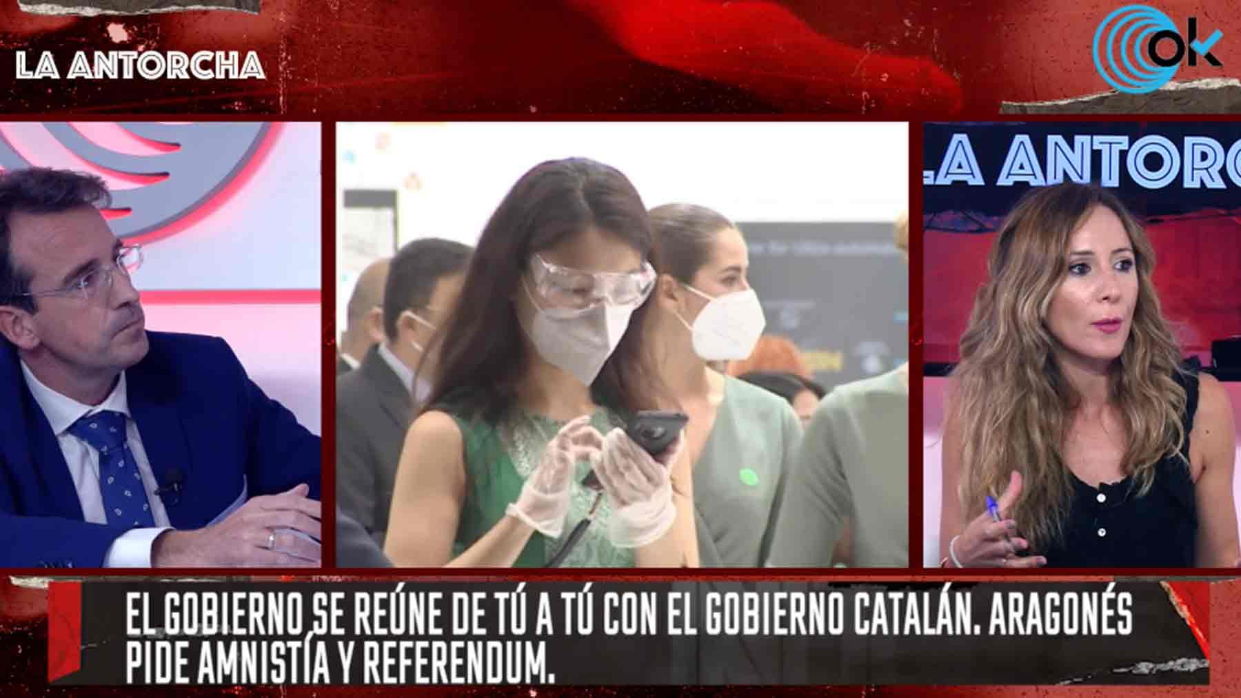 Miguel Ángel Recuenco y Cynthia Díaz Nobile en La Antorcha