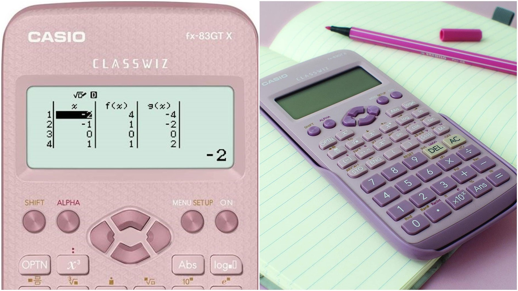calculadora de casio